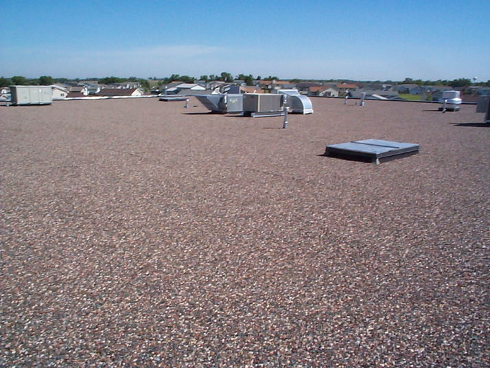 Built Up Roofing Installation Tar Amp Gravel Roofing