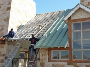 Paradigm Roofing Standing Seam Roof Installation Frisco TX